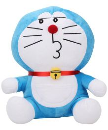 Doremon Soft Toy Blue White - 12 Inches