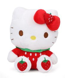Hello Kitty Sitting Plush Red - 28 cm