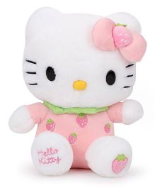Hello Kitty Plush Toy Pink - 22 cm