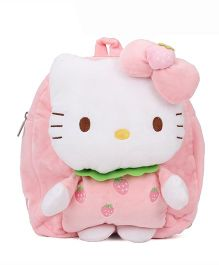 Hello Kitty Plush School Bag Pink - 10 Inches