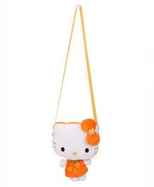 Hello Kitty Shoulder Plush Bag Orange - 3 Inches