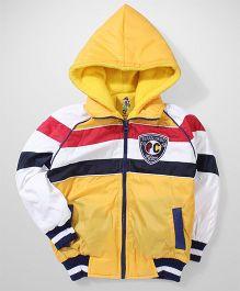 Peridot Hooded Jacket Logo Patch - Yellow Red White