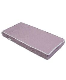 Spring Air Foam Mattress Zig Zag Design - Purple