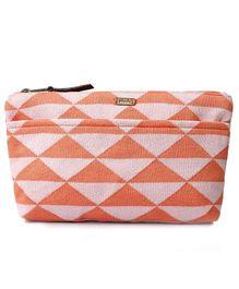 Pluchi Travel Pouch - Peach & Pink