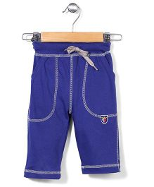 Prince And Princess Three Fourth Pants - Royal Blue