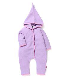 Zutano Cozy Elf Romper - Lavender