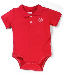 Vitamins Baby Onesie - Red