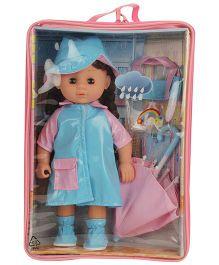 Hamleys Calinou Umbrella Doll Set -  Blue