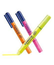 Staedtler 264 01 BK 3 Gel Highlighter Pens -  Pack  Of 3