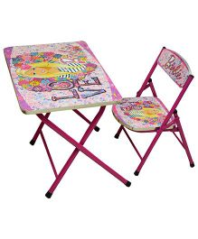 Barbie Table and Chair Set - Pink