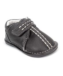 Jack & Lily Baby Shoes Style Booties - Black