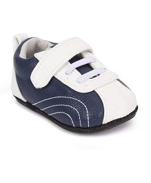 Jack & Lily Casual Shoes - Navy Blue And White