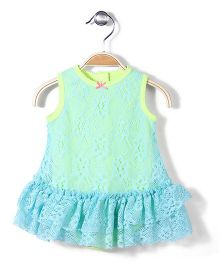 Baby Starters Dress - Aqua Green