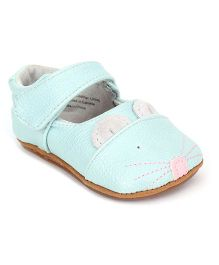 Jack & Lily Shoes Mouse Motif - Aqua Blue