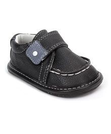 Jack & Lily Velcro Closure Shoes - Black
