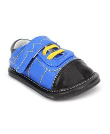 Jack & Lily Dual Color Shoes - Blue And Black