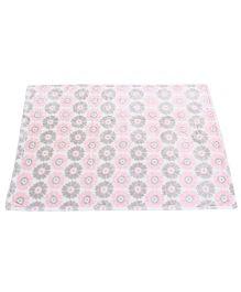 Baby Starters Printed Baby Blanket - Pink