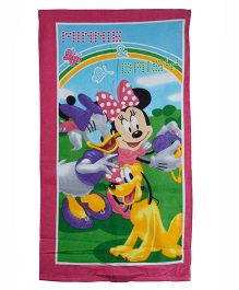 Mickey Mouse And Friends Printed Towel