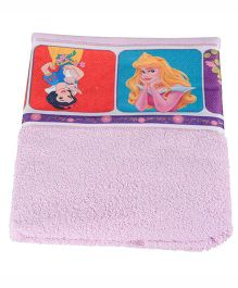 Disney Princess Printed Towel - Pink