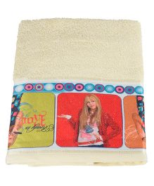 Disney Hannah Montana Towel - Yellow