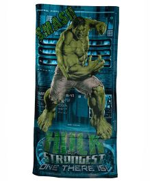 Marvel Hulk Printed Towel