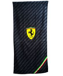 Ferrari Cotton Towel - Black