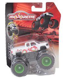 Majorette Monster Rockers Truck Toy - White