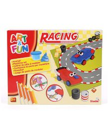 Art And Fun Racing Dough Set