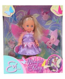 Simba Evi Love Magic Fairy Doll - Purple