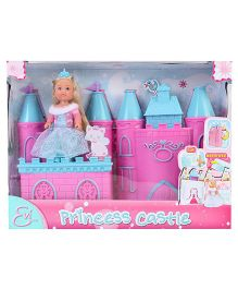 Simba Evi Love Princess Doll Castle Set - Blue