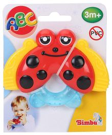 ABC Water Filled Teether - Red And Yellow
