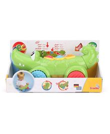 ABC Pushing Crocodile Toy - Green