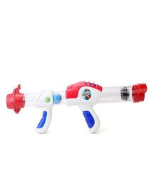 Simba Flying Zone Pop Ball Shooter - White And Red