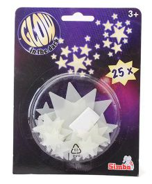 Simba Glow In The Dark Stars - 24 Pieces