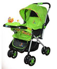 Sunbaby Stroller Cum Pram Green - SB-100A
