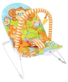 Sunbaby Musical Baby Bouncer - Blue And Green