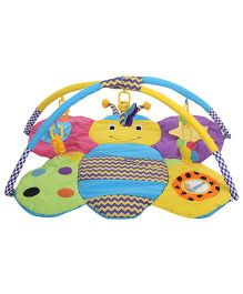 Sunbaby Butterfly Shape Playmat - Yellow And Blue