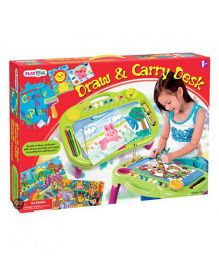 PlayGo Draw And Carry Desk - Multicolor