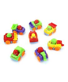 Vehicle Toys Pack of  8 (Color May Vary)