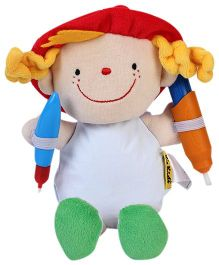 K's Kids What To Wear Doodle Doll - Julia