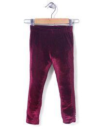 Tiny Girl Full Length Leggings - Purple
