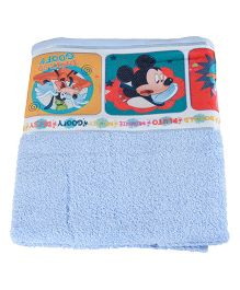 Mickey Mouse And Friends Printed Towel - Blue