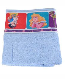 Disney Princess Printed Towel - Blue