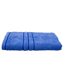 Sassoon Sandy Cotton Bath Towel - Blue