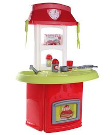 Ecoiffier Italian Pretend Play Kitchen - Red