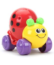 Push And Go Honey Bee Toy - Red