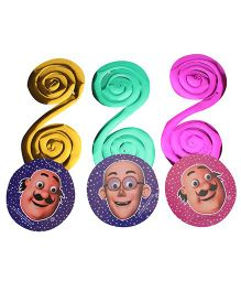 Motu And Patlu Dangling Swirls - 3 Pieces