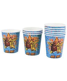 Motu Patlu Paper Cups - Pack Of 10