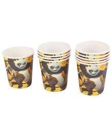 Kung Fu Panda Paper Cups - Pack Of 10