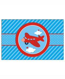 Prettyurparty Airlines Table Mats- Blue